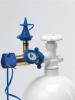 Clasic Inflator with Gauge Soft Touch Push Valve